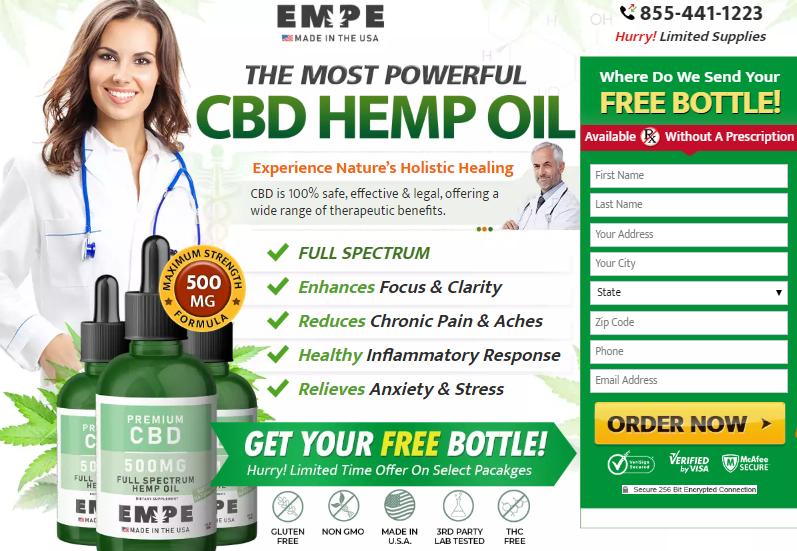 Buy EMPE CBD Oil
