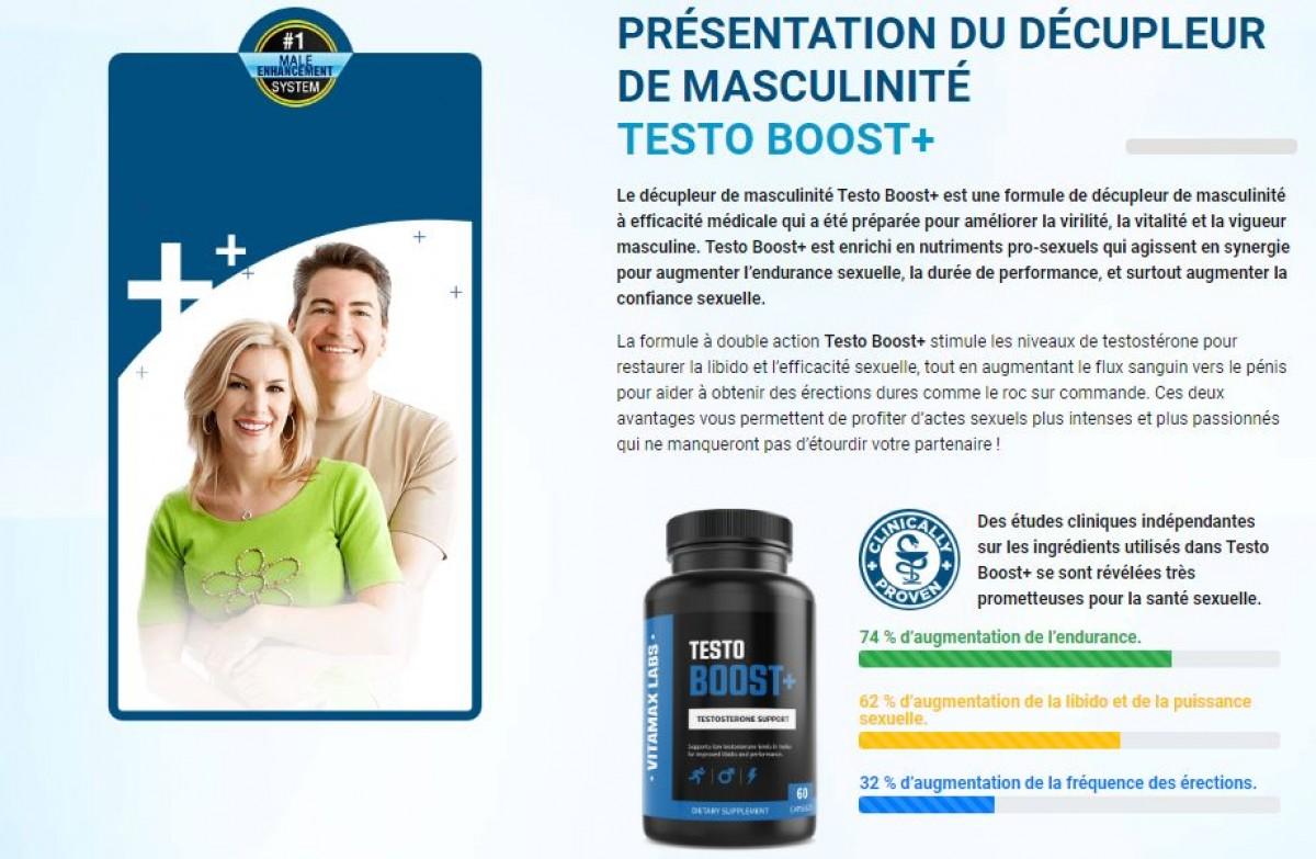 Testo Boost+ Pills