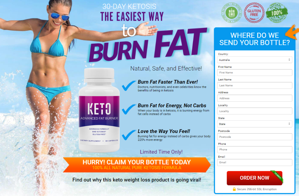 Where to Buy Keto Advanced Fat Burner