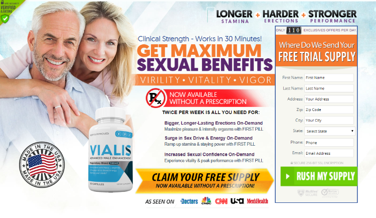 Where to Buy Vialis Male Enhancement
