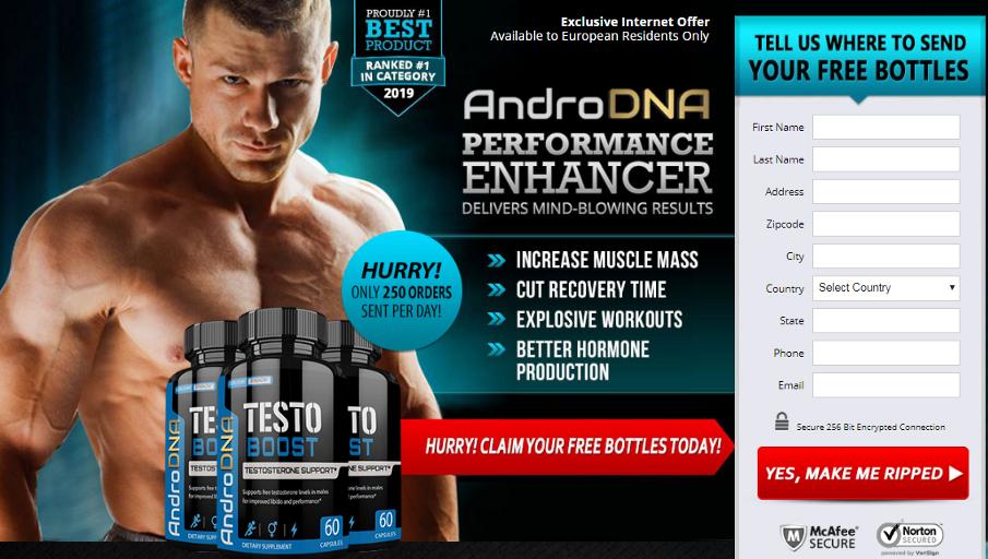 Buy AndroDNA Testo Boost