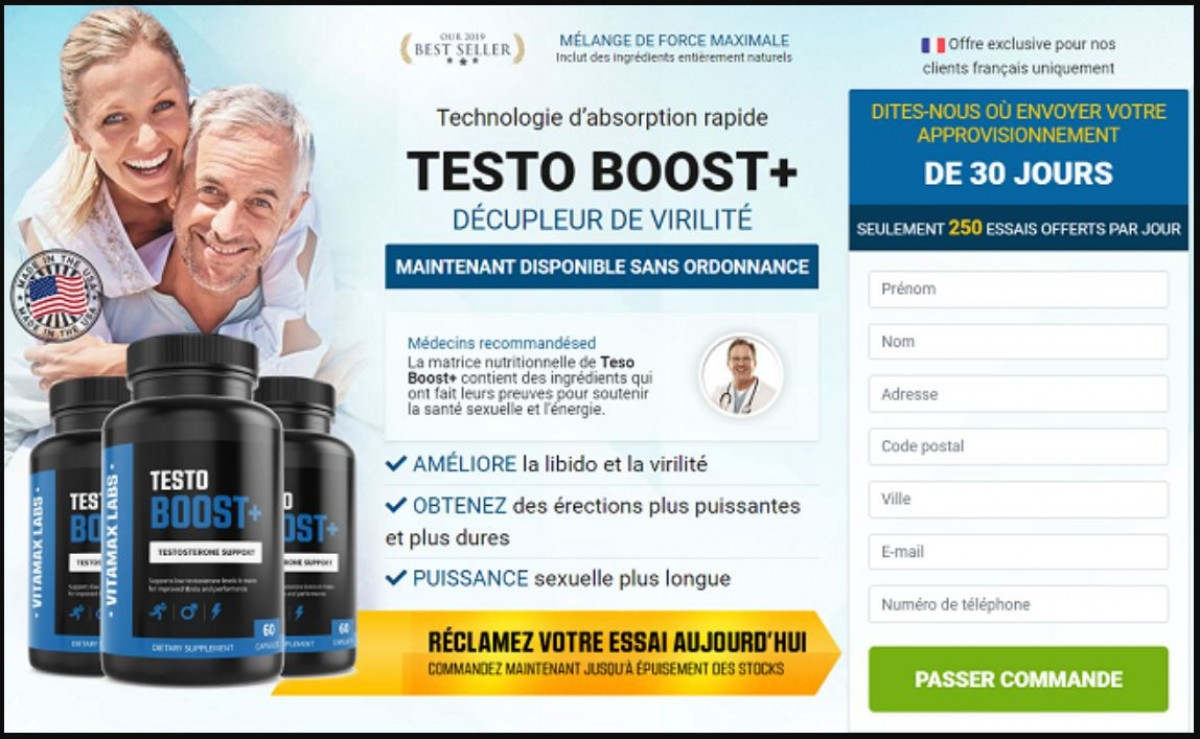 Testo Boost Plus