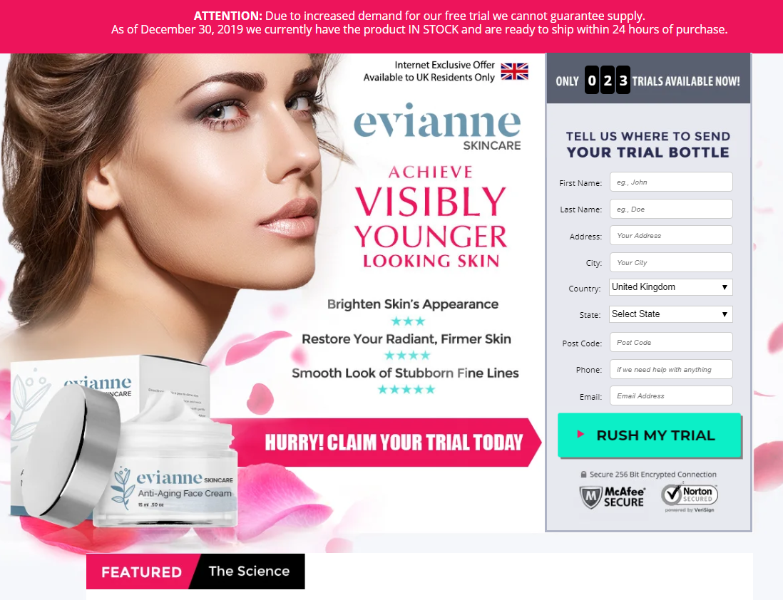 Where to Buy Evianne Cream