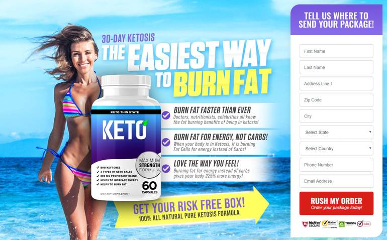 Where to Buy Keto Thin State