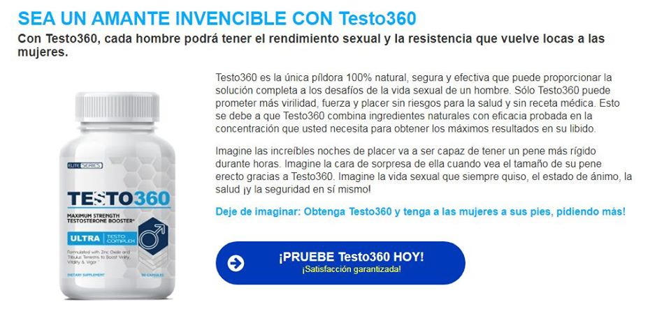 Where to Buy Testo 360 Precio